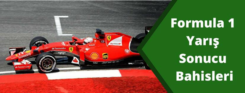 Formula 1 Yarış Sonucu Bahisleri