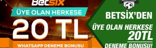 betsix whatsapp bonusu
