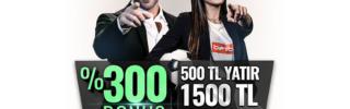 Betboo 1500 TL bonus